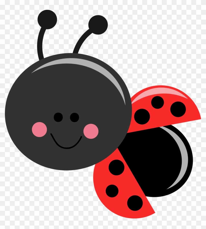 Beetle Clipart Ladybug - Lady Bug Cartoon Cute #395103