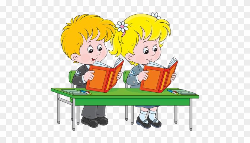 Shutterstock 188587781 [преобразованный] - Clipart School Children Reading #395356