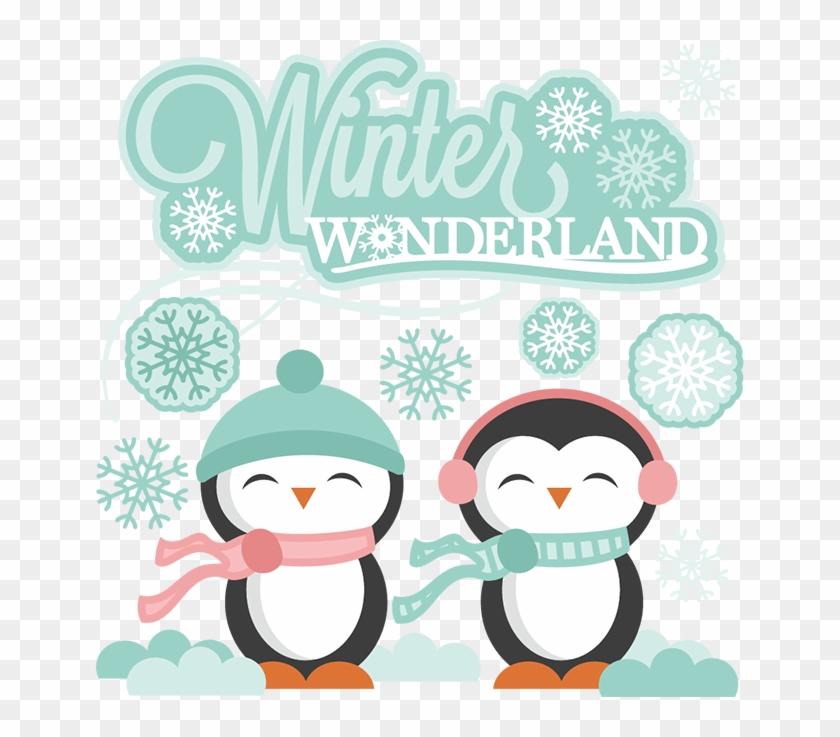 Wonderland Svg - Winter Wonderland Clipart Png #395553