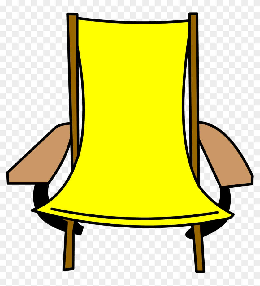Folding Chair - Club Penguin Outdoor Furniture #395574