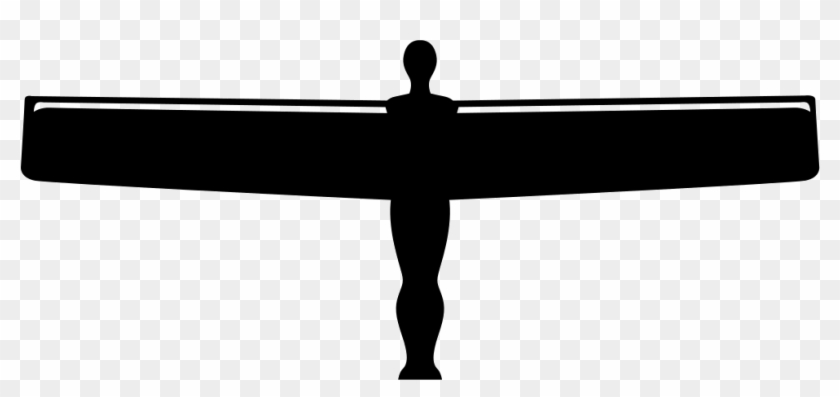 Angel Of The North Gateshead Comments - Angel Of The North Silhouette #395718
