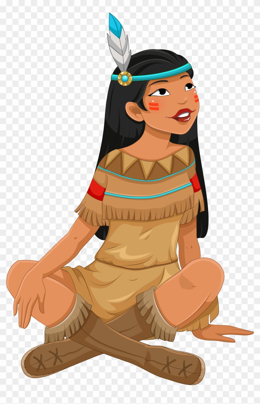 Chick Clipart Thanksgiving - Native American Clipart Png #395783