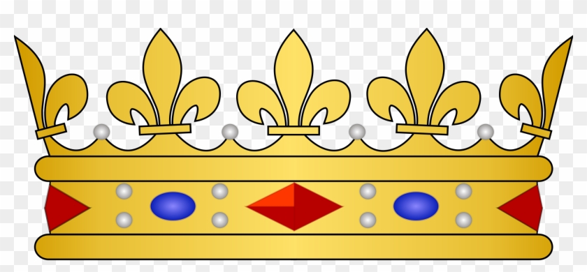 Crowns Clipart - King And Queen Crowns Transparent #395836