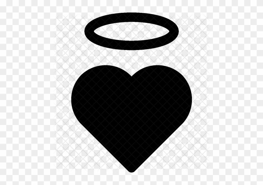 Saint Icon - Black Angel Halo Png #395913