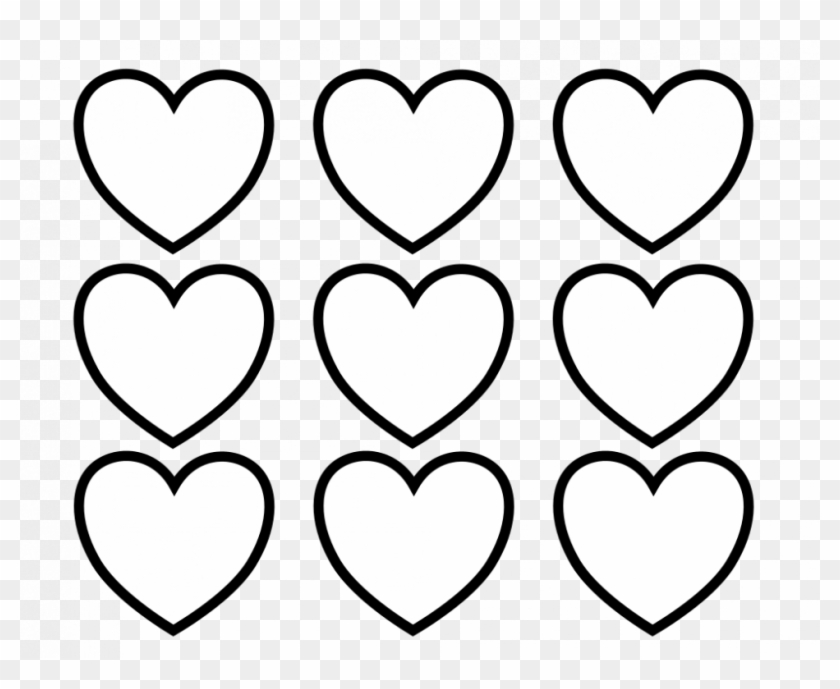 55 Heart Coloring Pages - Valentines Day Hearts Coloring Pages #395944