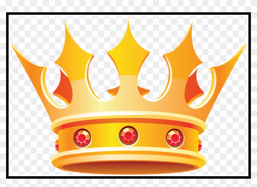 Gold Crowns Gold Crowns Clipart Awesome Crown Clip - King And Queen Crowns Clipart #396028