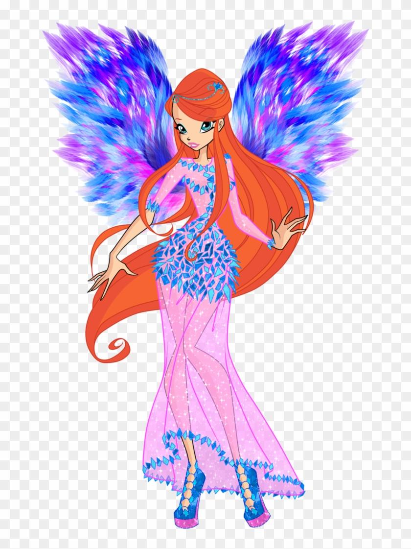 Bloom Sirenix Coloring Page by Sugar-Loop on DeviantArt | 1121x840