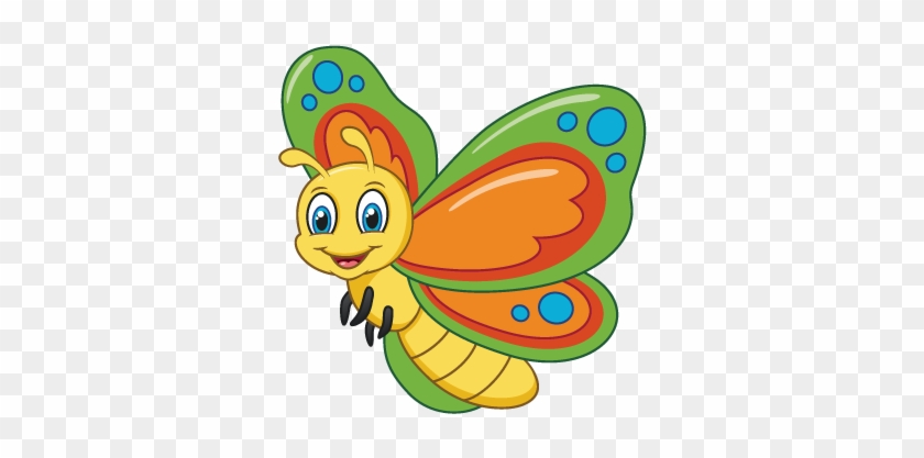 Caterpillars And Butterflies Are A Beautiful And Fascinating Caterpillar To Butterfly Cartoon Free Transparent Png Clipart Images Download