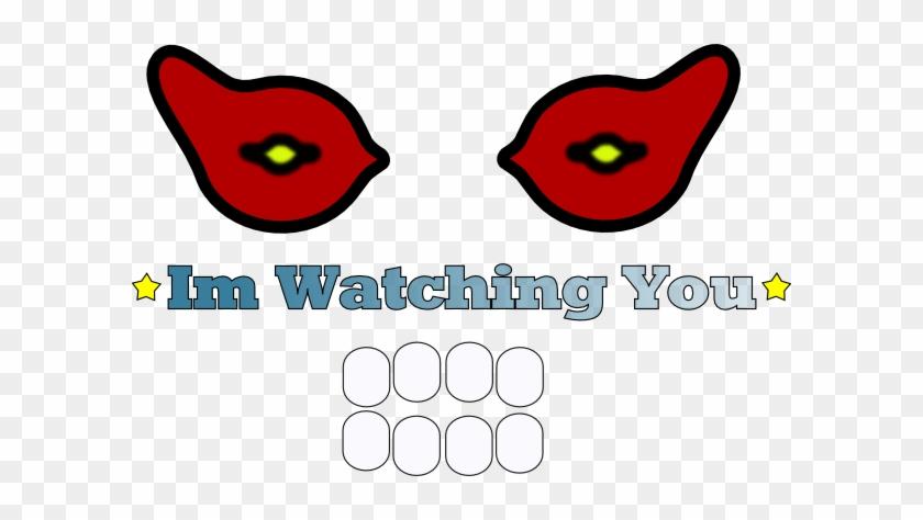 Watching You Clip Art - Clip Art #396627