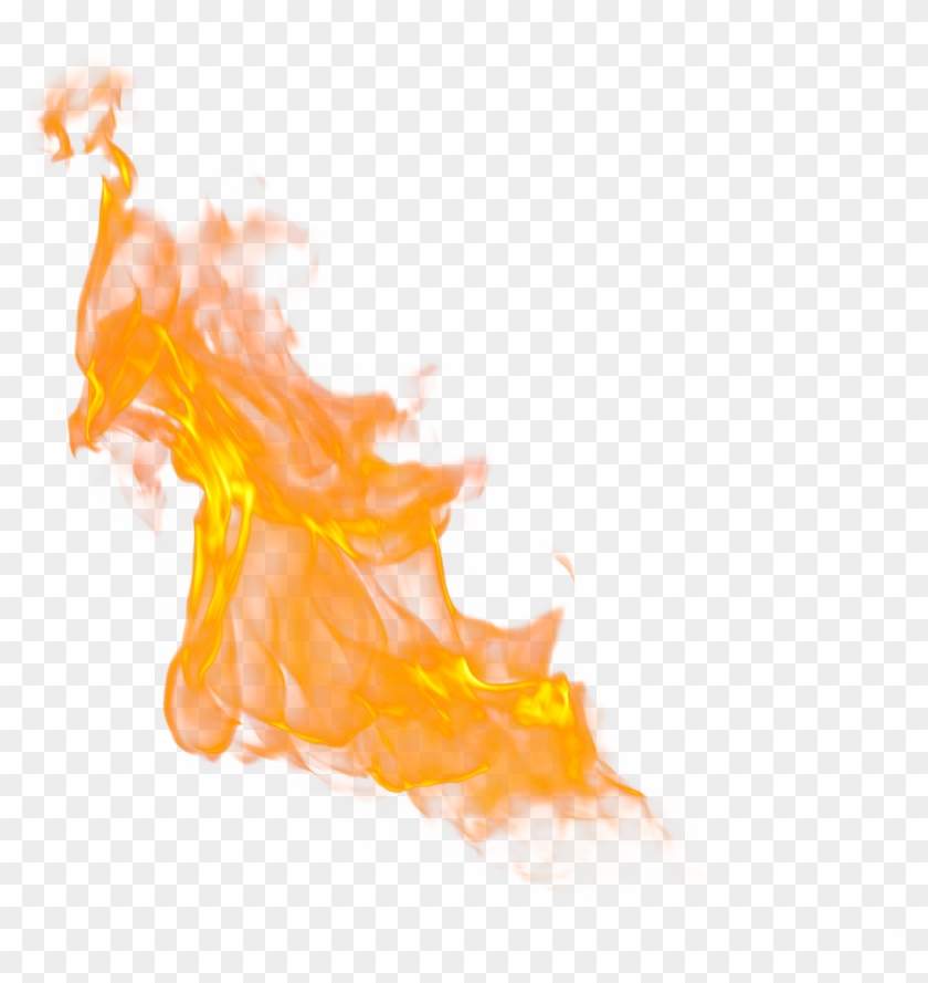 Fire Flames Clipart Fire Effect - Fire Flame Transparent Background #396706