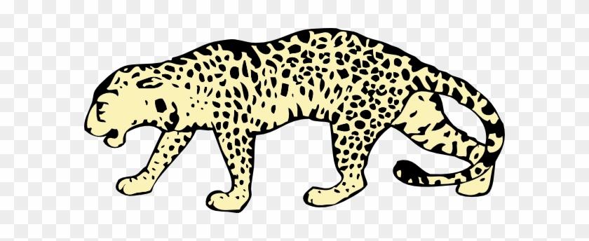 Leopard Clip Art - Custom Cheetah Shower Curtain #396760