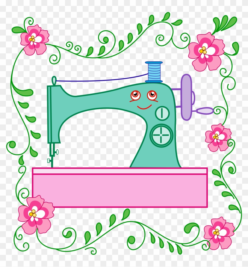 Whimsical Sewing Characters Is A Downloadable Machine - Caricatura Imagenes De Maquinas De Coser #396829