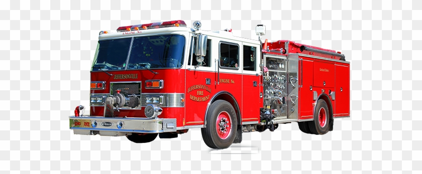 Fire Truck Png - Red Fire Truck Png #397007