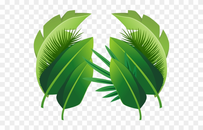 Plant Tropical Leaves, Plant, Tropical, Leaves Png - Transparent Background Tropical Palm Leaves Png #397133