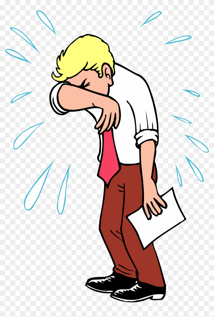 Crying Cartoon Drawing Clip Art - Cartoon Crying Man ...