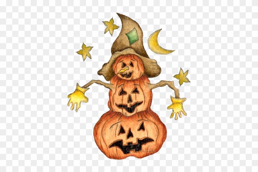 Scarecrow Clipart Halloween - Halloween Scarecrow Clipart #397299