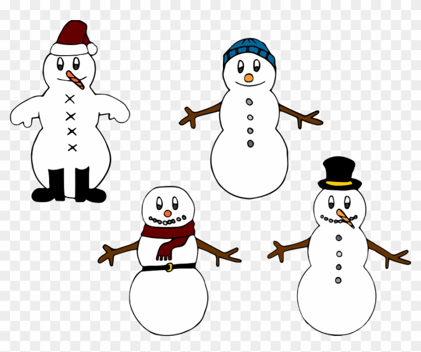 Funny Snowman Clipart 22, - Christmas Coloring: An Adult Christmas Coloring Book: #397442