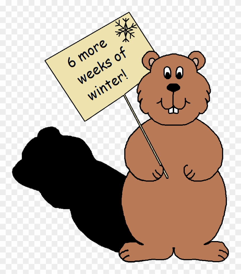 Graphics By Ruth Groundhog Clipart - Groundhog Day Prediction Chart #397612