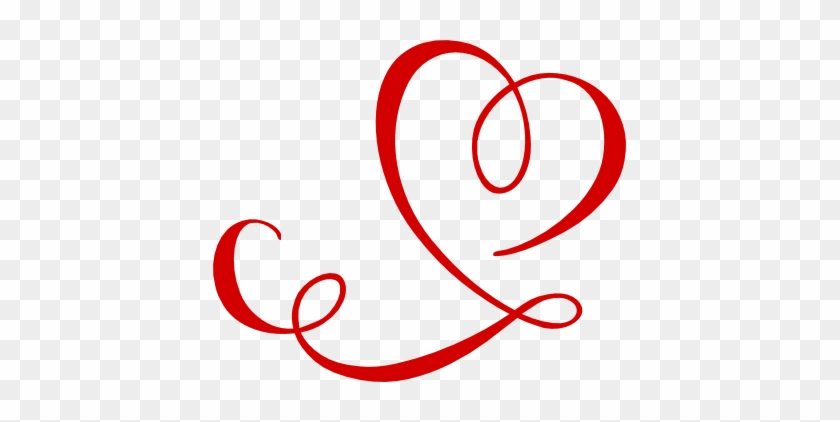 Swirl Clipart Love - Swirl Heart #397773