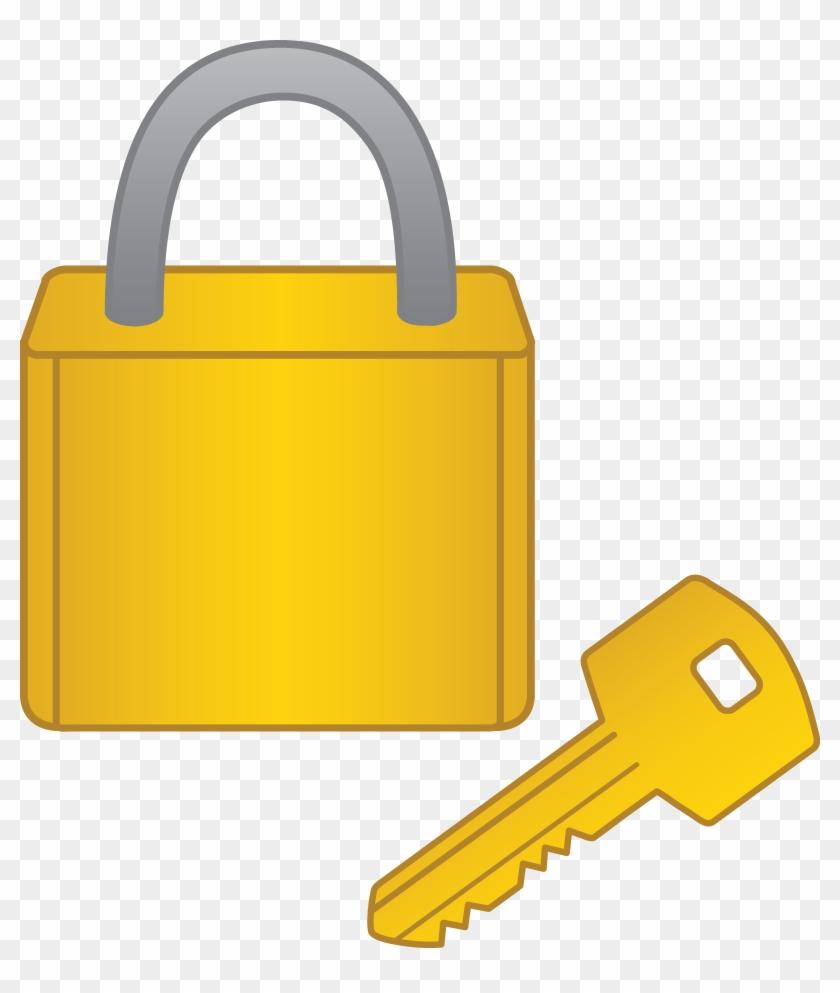 Door Clipart Lock And Key - Lock And Key Cartoon #397858