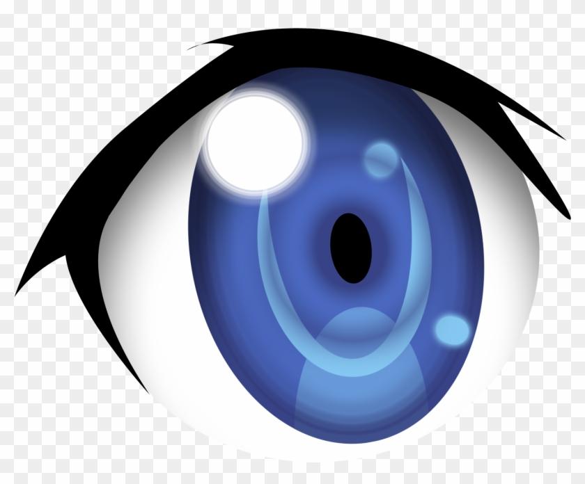 Blue Eyes Clipart Anime Eye