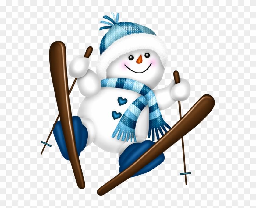 Clipart neige - Clipart bonhomme de neige ...