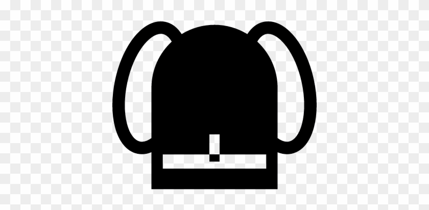 School Bag Vector - Backpack Icon #398697