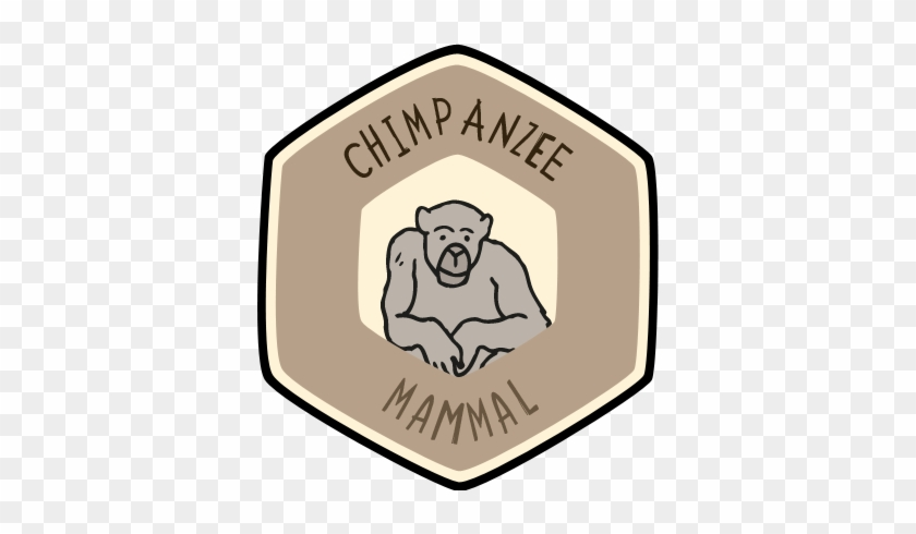 Visit The Zoo And Collect This Animal's Badge In Our - Badges Pictures For Zoo Clipart #399003