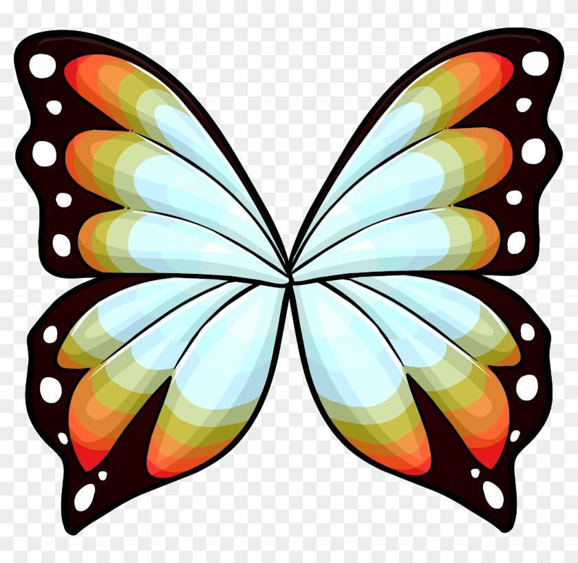 Schmetterlingsflügel Muster #399338