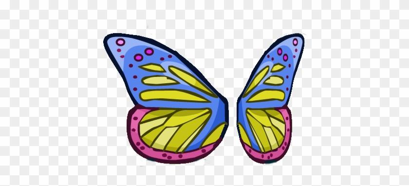 Butterfly Wings - Helmet Heroes Wings #399365