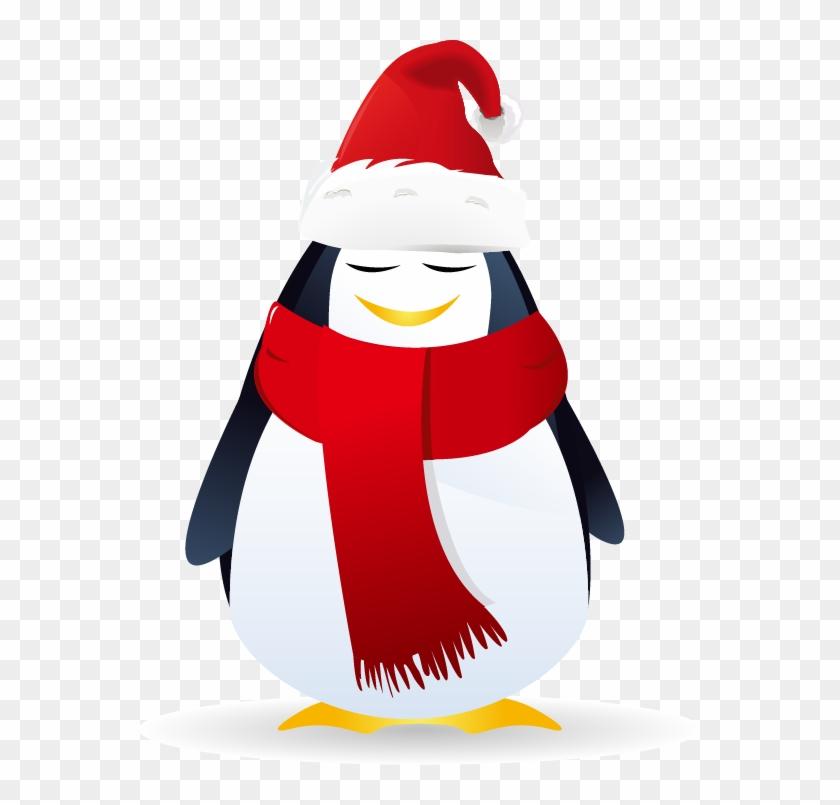 Santa Claus Christmas Royalty Free Snowflake - Santa58 Round Car Magnet #399541