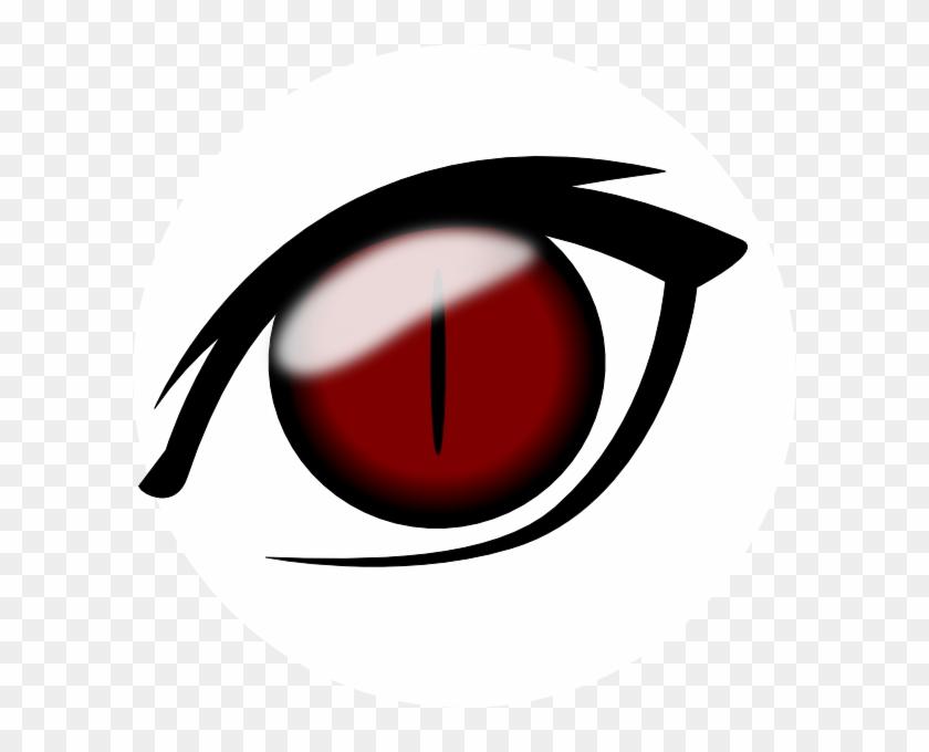 Anime Eye1 Png Clip Art - Anime Eye No Background #399592