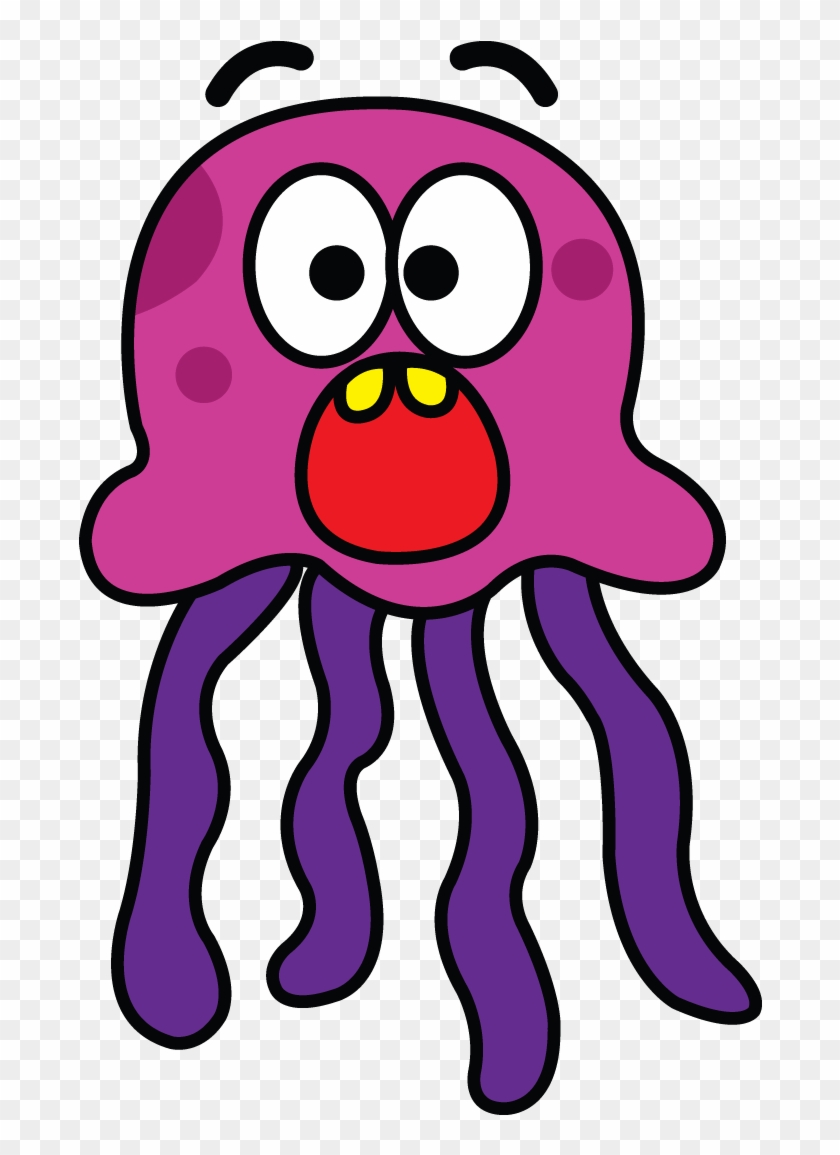 Jellyfish Drawing Tutorial Http Easy To Draw Jellyfish Free Transparent Png Clipart Images Download