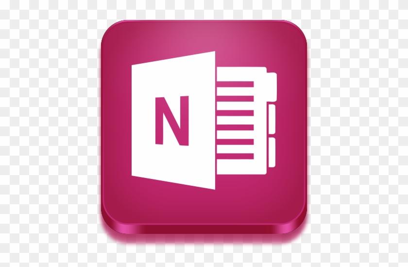 Microsoft Onenote - Microsoft Office Onenote Icon #399904