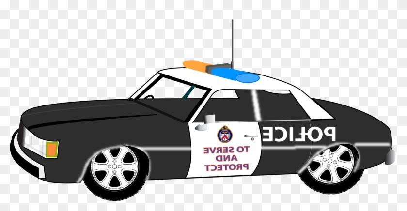 Police Car Clipart - Police Car Clip Art #400115