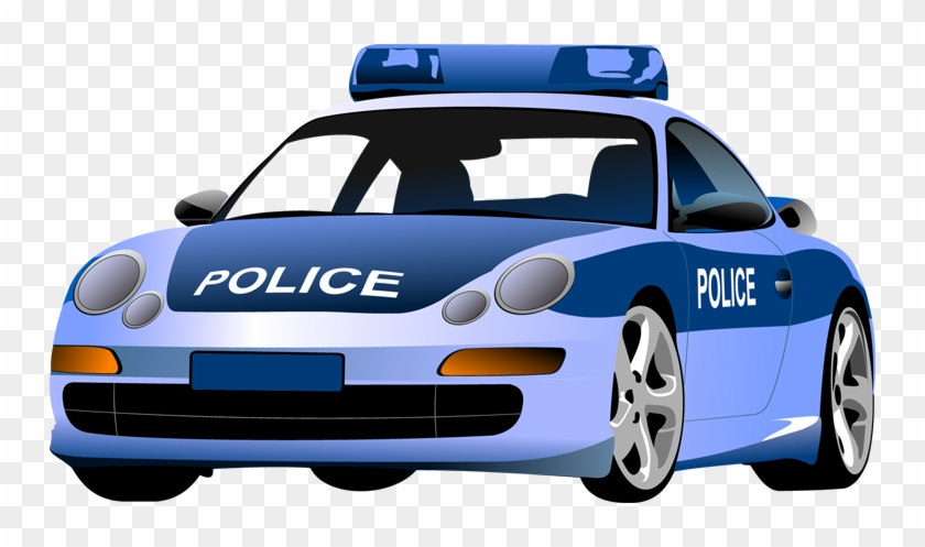 Police Car Clip Art Pictures To Pin On Pinterest - Police Man And Car #400146