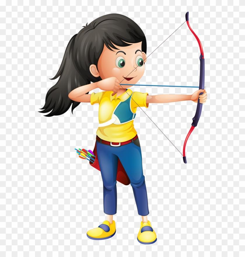 Марта девушка, картинки стрельба из лука для детей