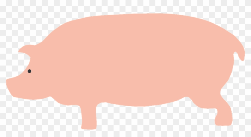 Free Pig Clipart 11 Cartoon Pig Side View Free Transparent Png