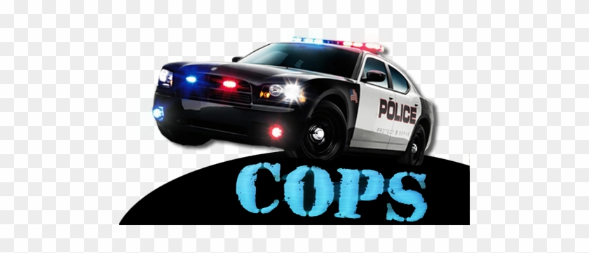 Cops - Dodge Charger Police Car #400838