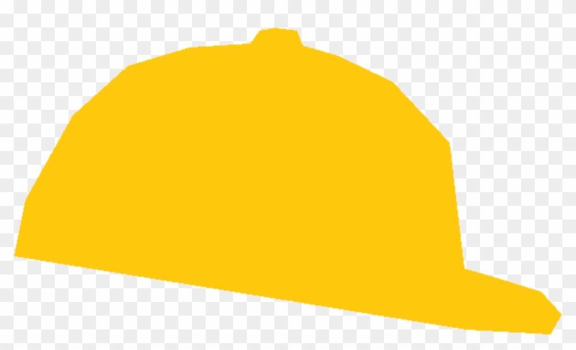Cap - Yellow Baseball Cap Clipart Png #400852