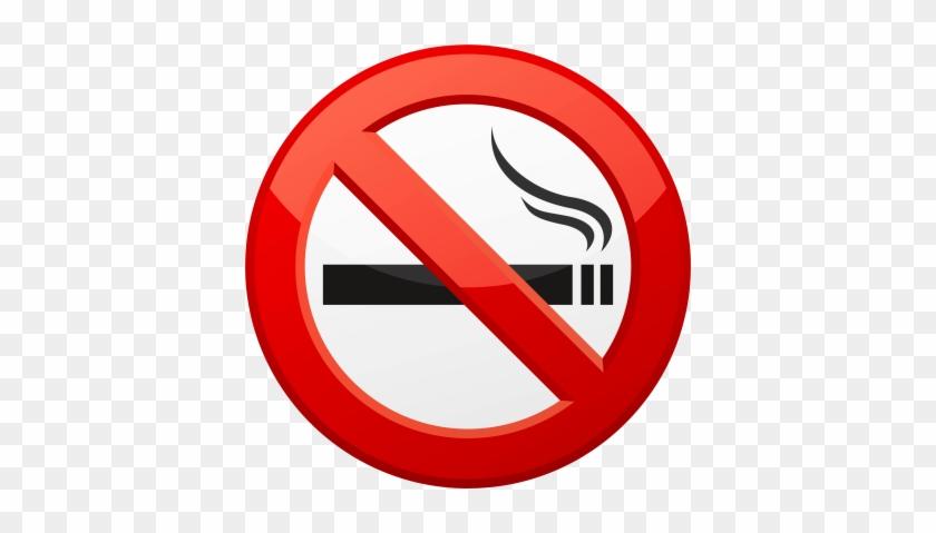 Hd Glossy No Smoking Png Images Png Images - Don T Smoke