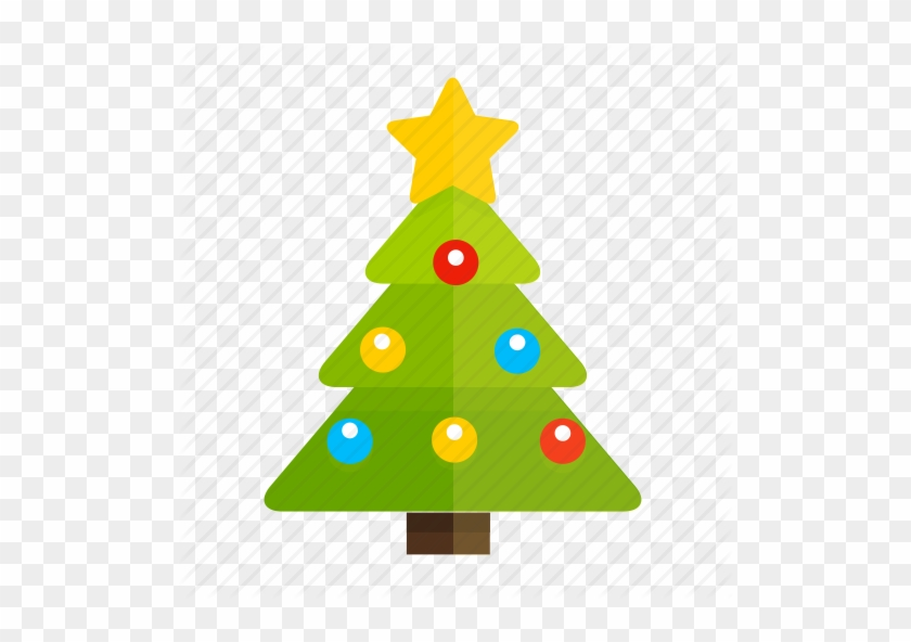 Christmas Tree Icons - New Year Icon Png #401183