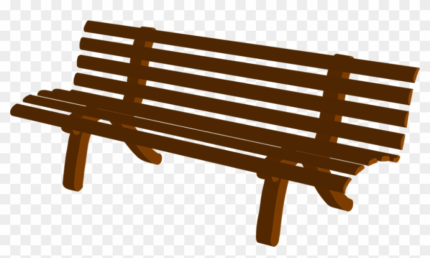 Wood Clipart Seat - Bench Clip Art #401203