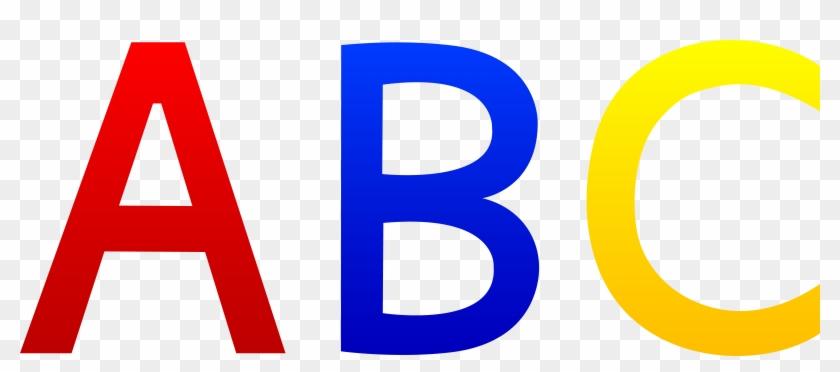 Abc Alphabet Letters - Alphabet Letters Clip Art #401398