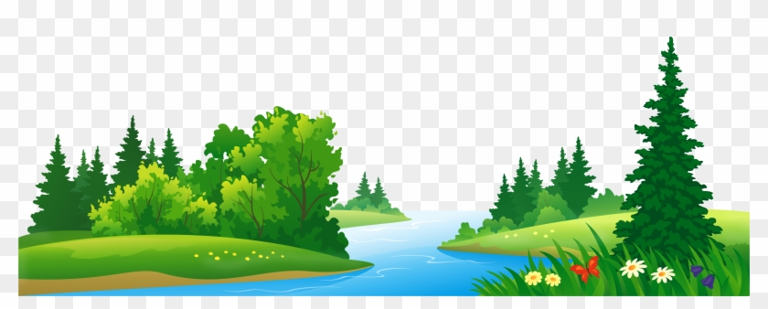See Clipart Mountain Background - Lake Clipart Transparent Background #401443