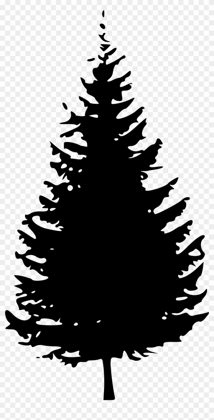 Transparent Tree Cliparts 18, - Pine Tree Clip Art Black And White #401604