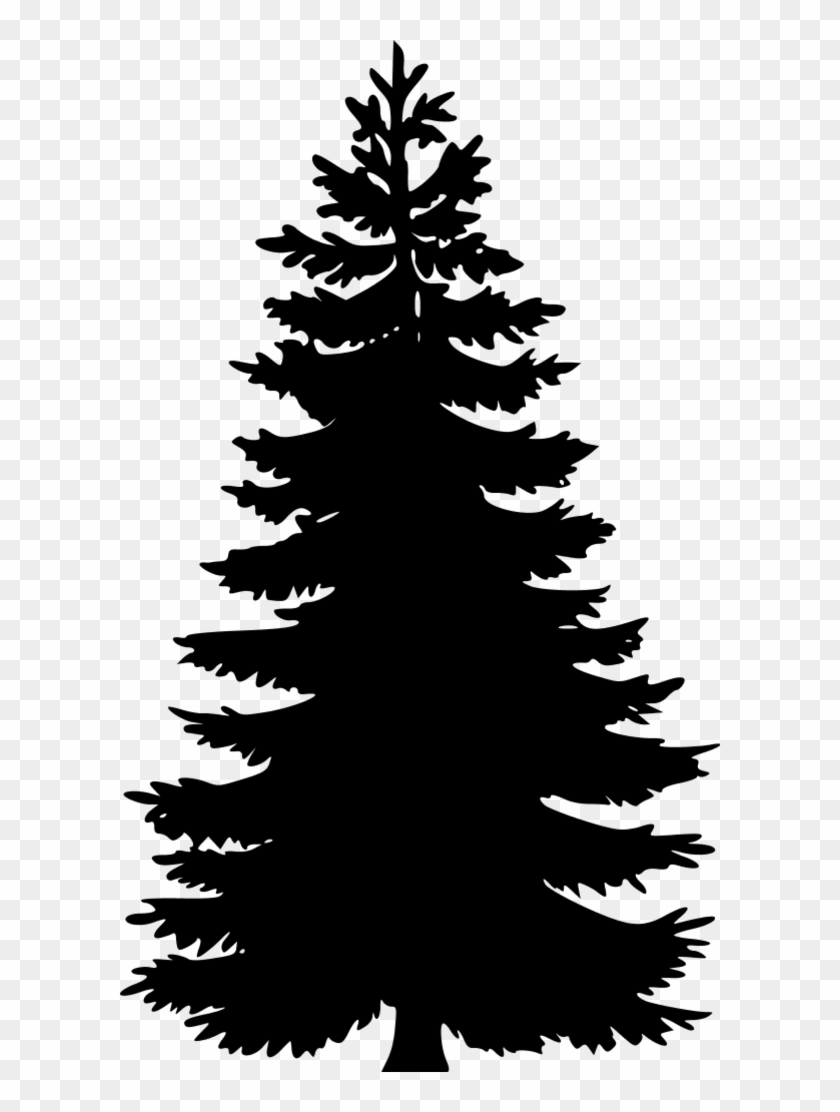Tree Silhouettes Pine Tree Vector Png Free Transparent Png Clipart Images Download