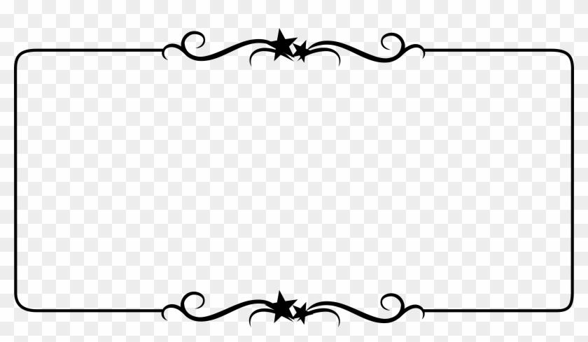 Gallery For > Simple Black Corner Borders Wedding Scroll - Border Frame #401742