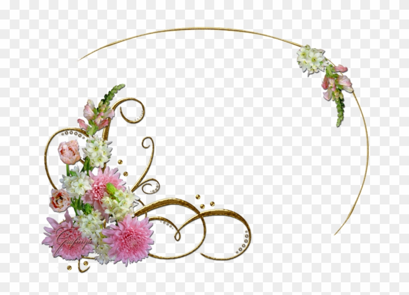 Picture Frames Light Floral Design Clip Art - Picture Frame #401883