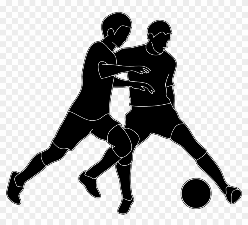 People Soccer Ball Clipart People Playing Soccer Png Free